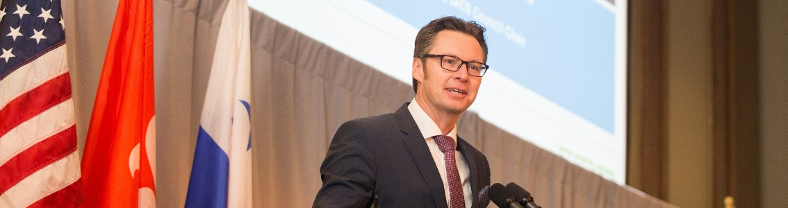 Chairman Knut Ørbeck-Nilssen sets out transformation of IACS at CMA Shipping 2018