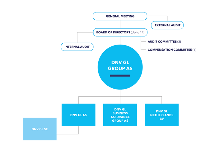 DNV GL corporate governance structure