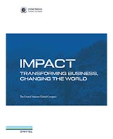DNV GL UNGC Impact report cover