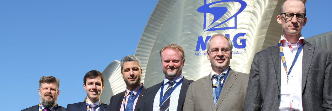 Advancing hull and propeller performance management. Representatives from Jotun and DNV GL, seen here during the Hull Performance & Insight Conference.