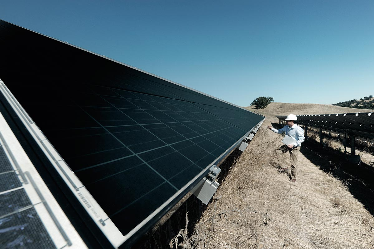 Solar panels inspection