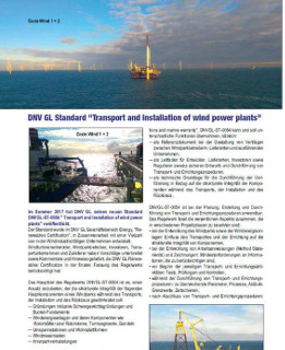 Transport and installation of wind power plants