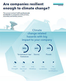 Viewpoint infographic - Are companies resilient enough to climate change