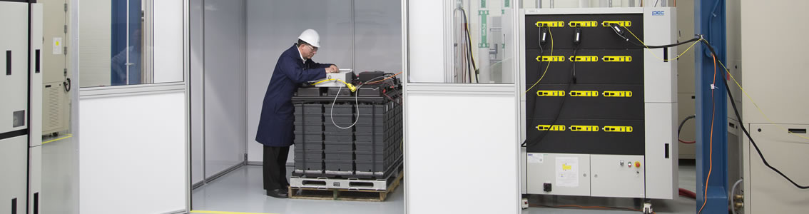 Battery and energy storage testing