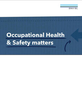 DNV GL Infographic Occupational Health and Safety Matters